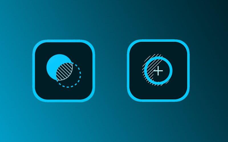 Ícones dos apps Photoshop Mix e Fix, da Adobe