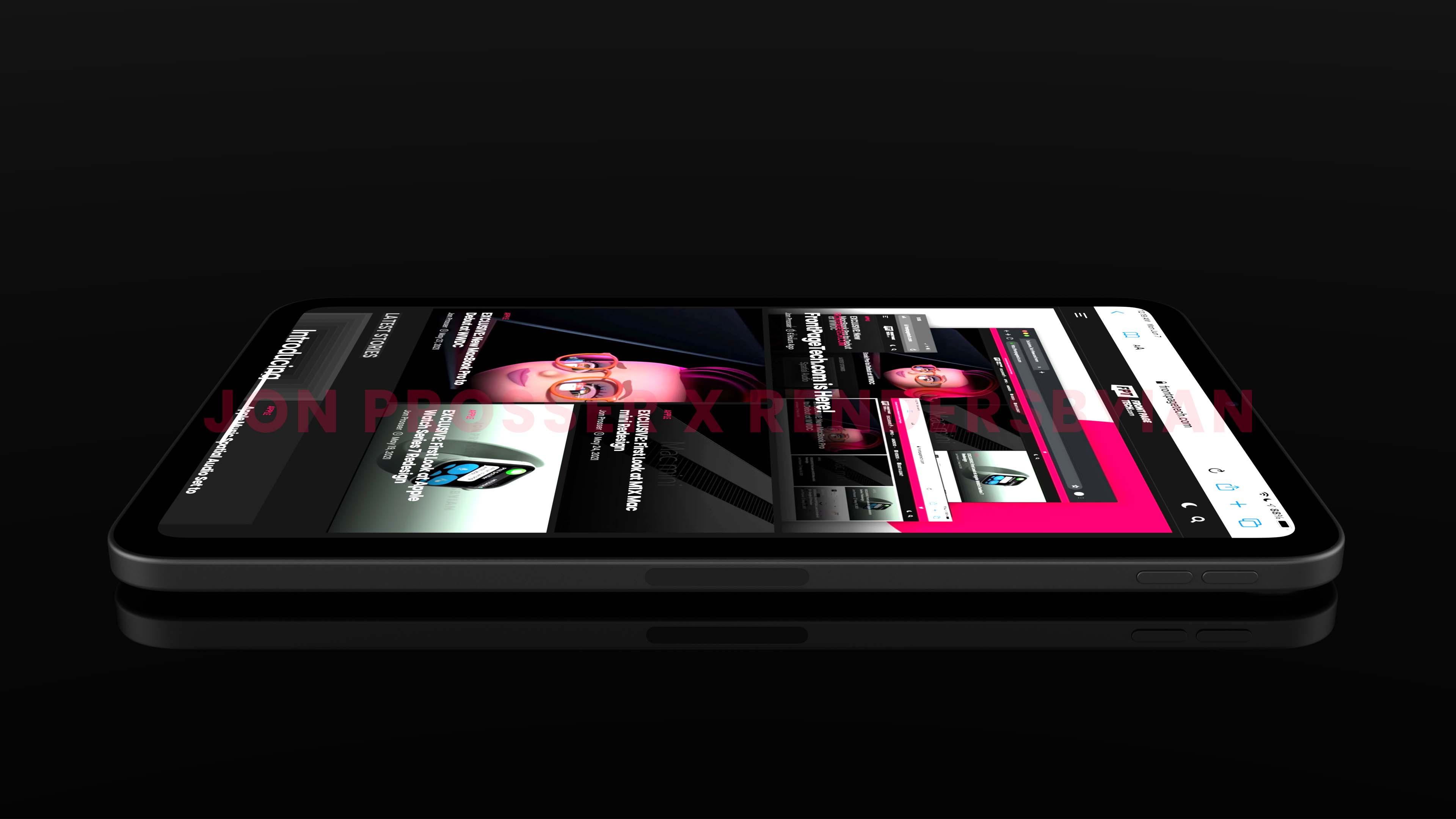 Renders de suposto novo iPad mini