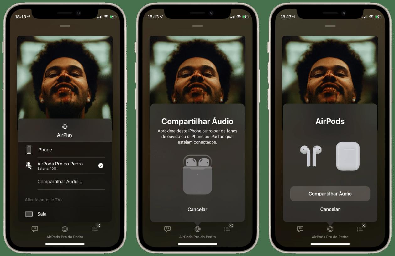 Cómo compartir audio con auriculares AirPods o Beats [iPhone, iPad e Apple TV] – MacMagazine.com.br