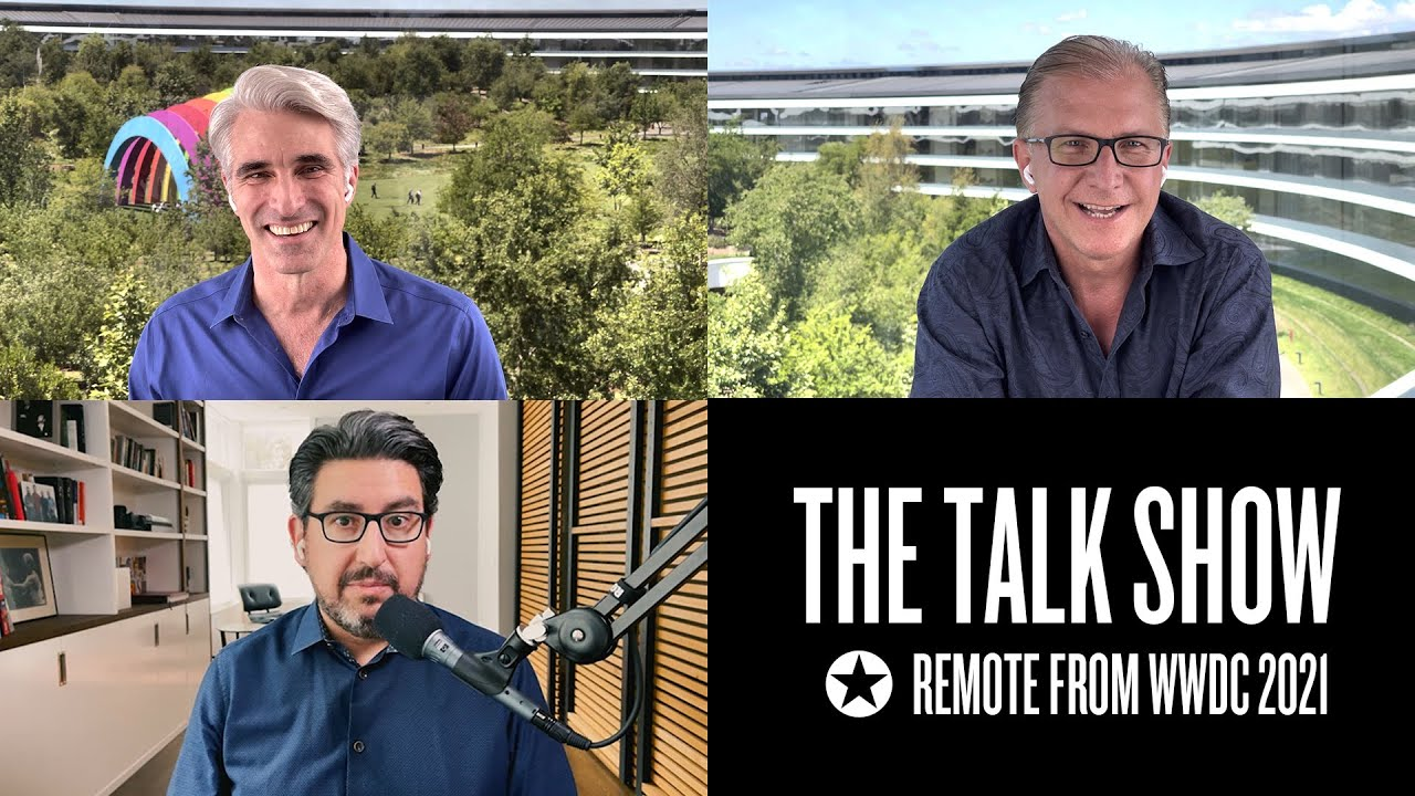 Entrevista: John Gruber fala com Craig Federighi e Greg Joswiak sobre novidades da WWDC21