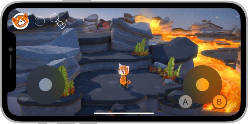 Joystick virtual iOS 15