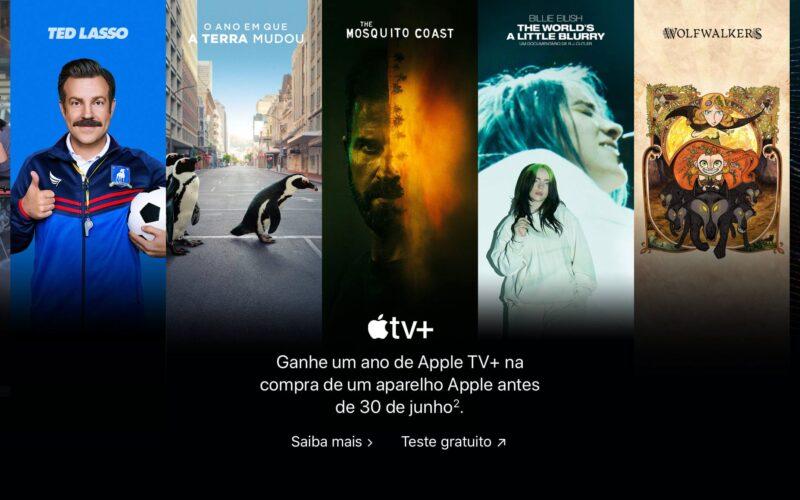 Oferta de um ano do Apple TV+