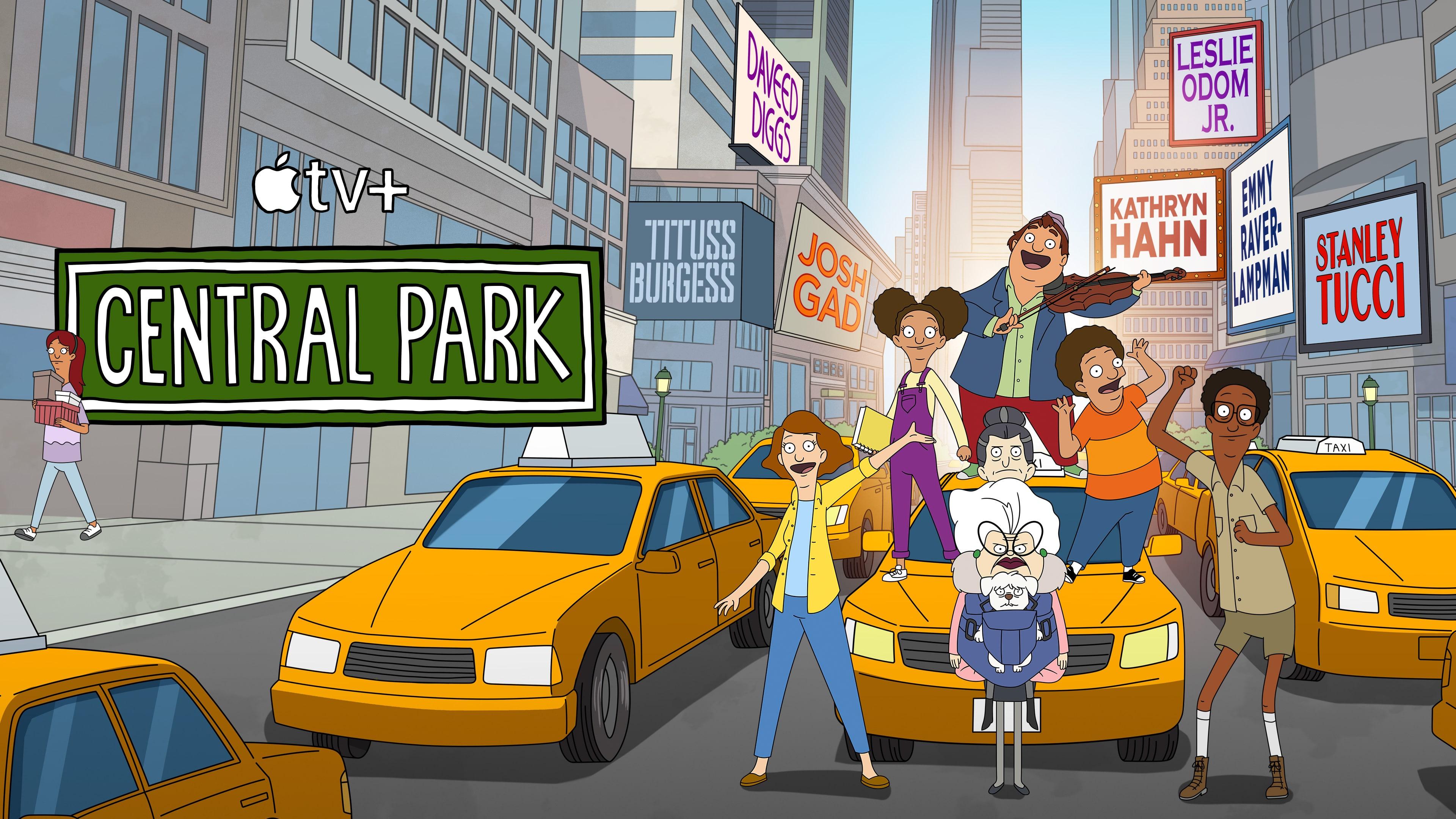 """2ª temporada de """"Central Park"""""""