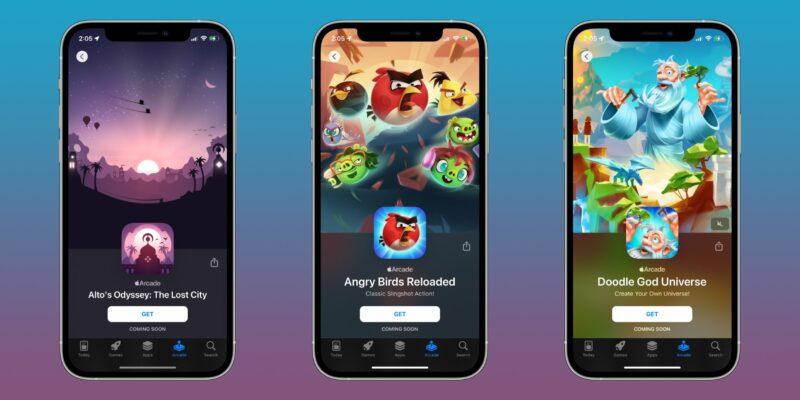 Lançamentos Apple Arcade