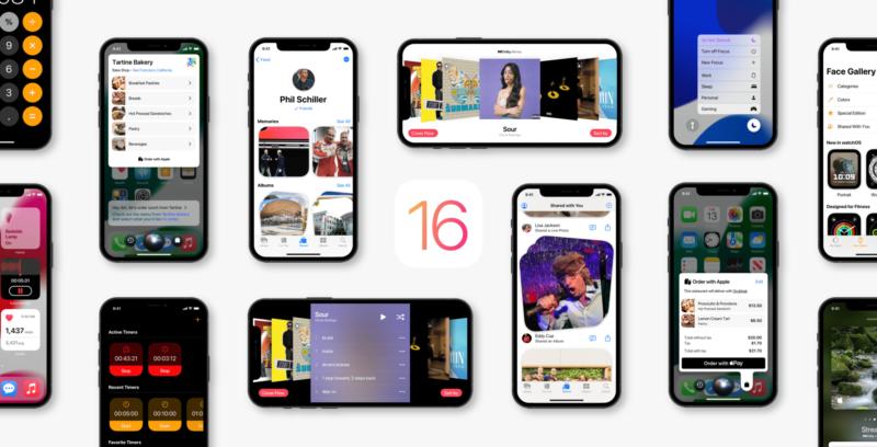 Conceito do iOS 16