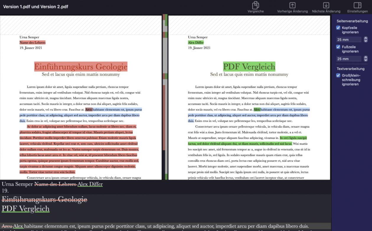 PDF Diff