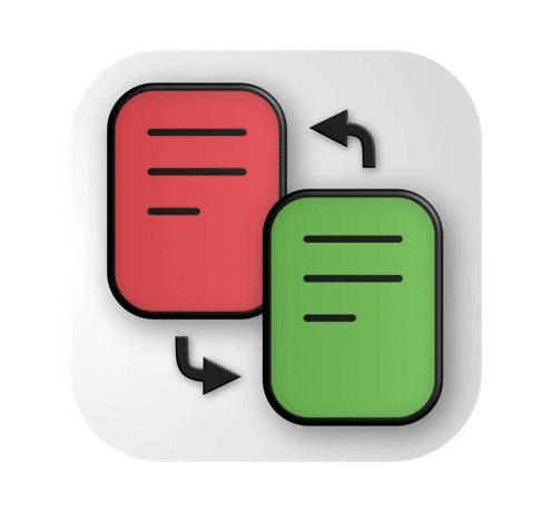 PDF Diff ícone
