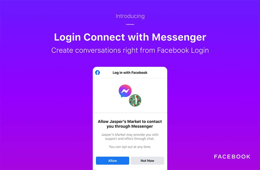 Connect com Messenger