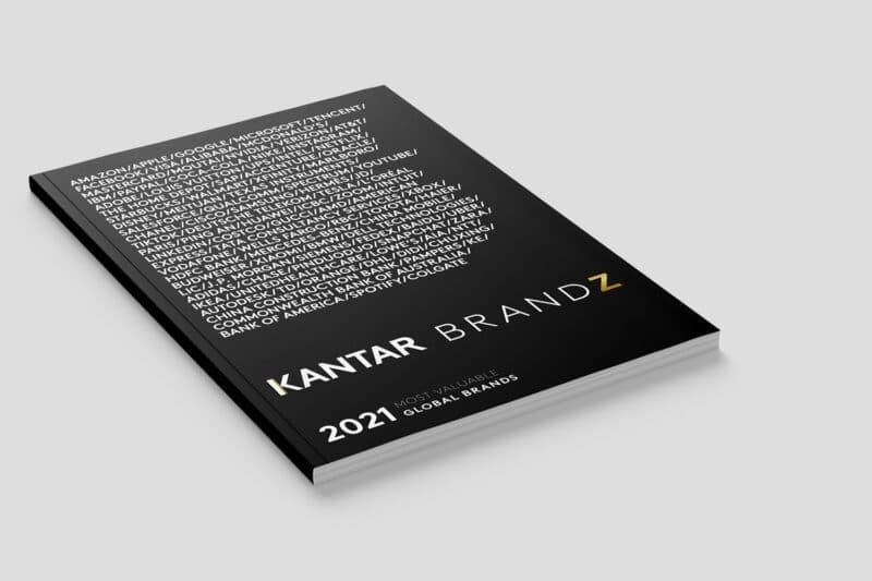 Ranking de 2021 da Kantar com as marcas mais valiosas 2021