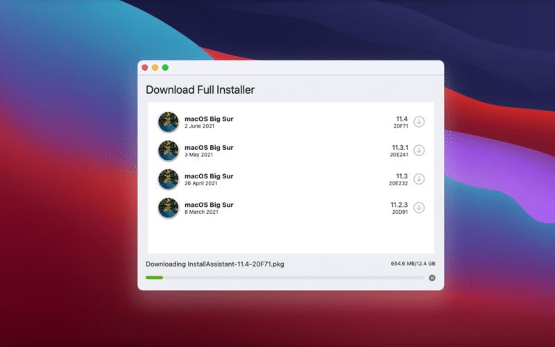 Download Full Installer