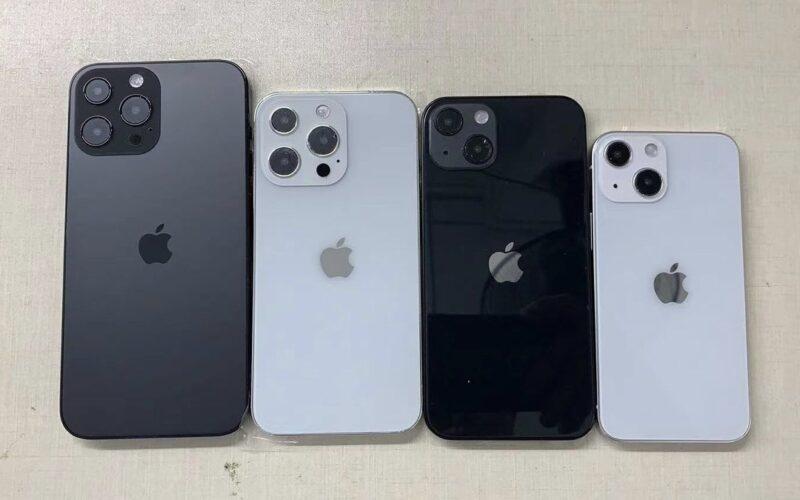 """Mockups dos """"iPhones 13"""""""