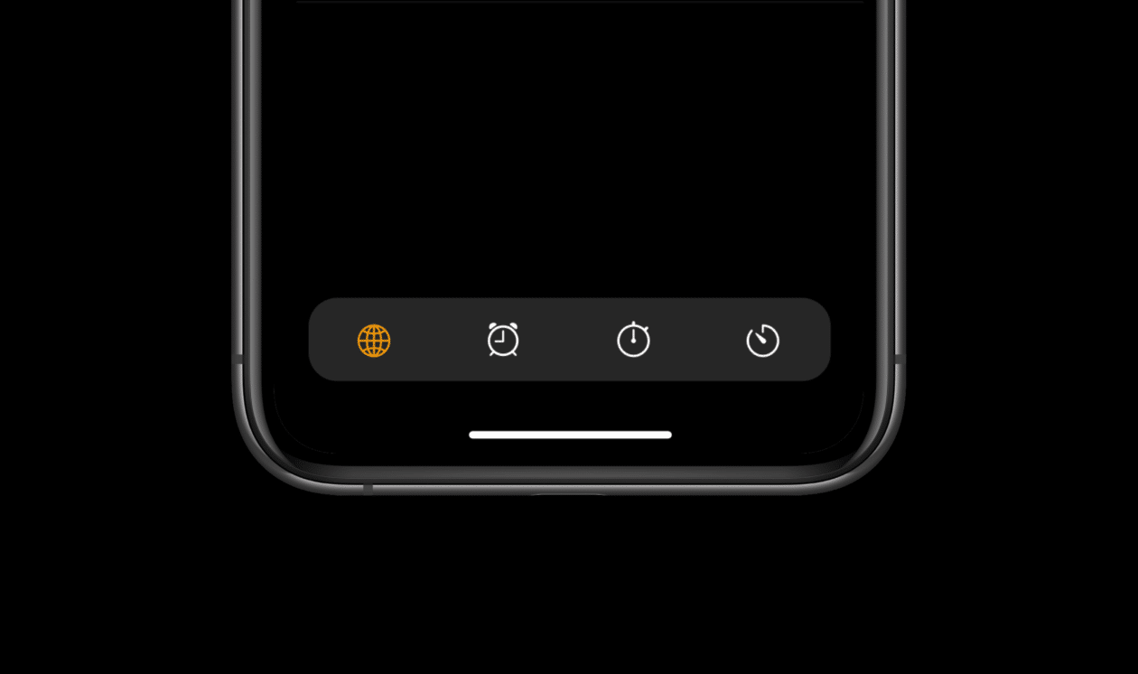 Conceito de interface do Safari (iOS 15) em outros apps