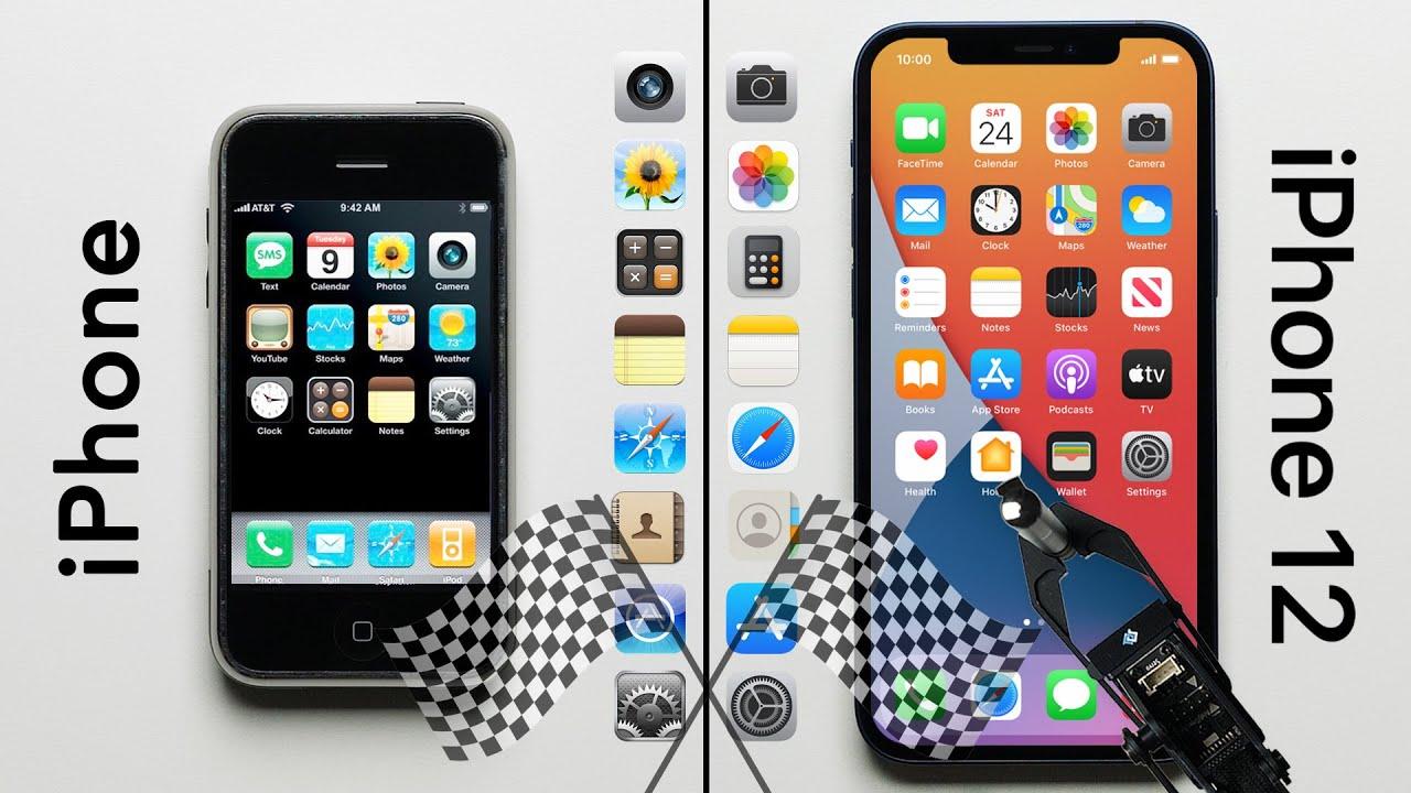 Teste de velocidade: iPhone 12 vs. iPhone original