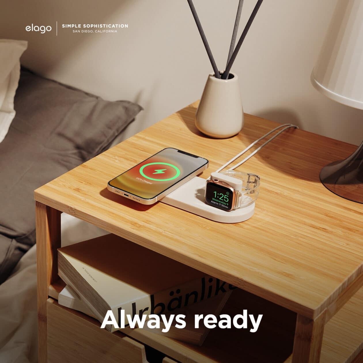 MagSafe Charging Hub Duo Watch, da elago