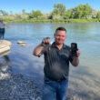 iPhone recuperado de rio