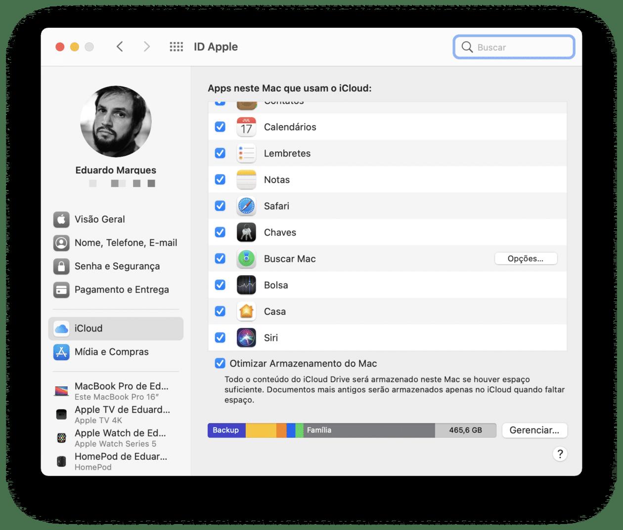 Buscar no Mac