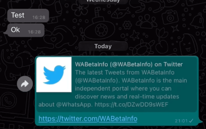 Nova interface de áudios no WhatsApp