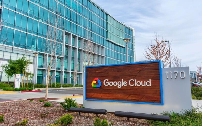 Prédio do Google Cloud
