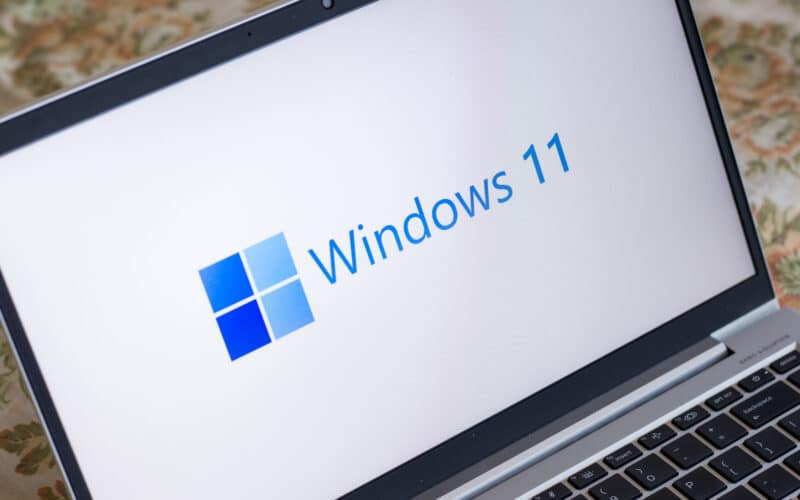 Windows 11 em notebook