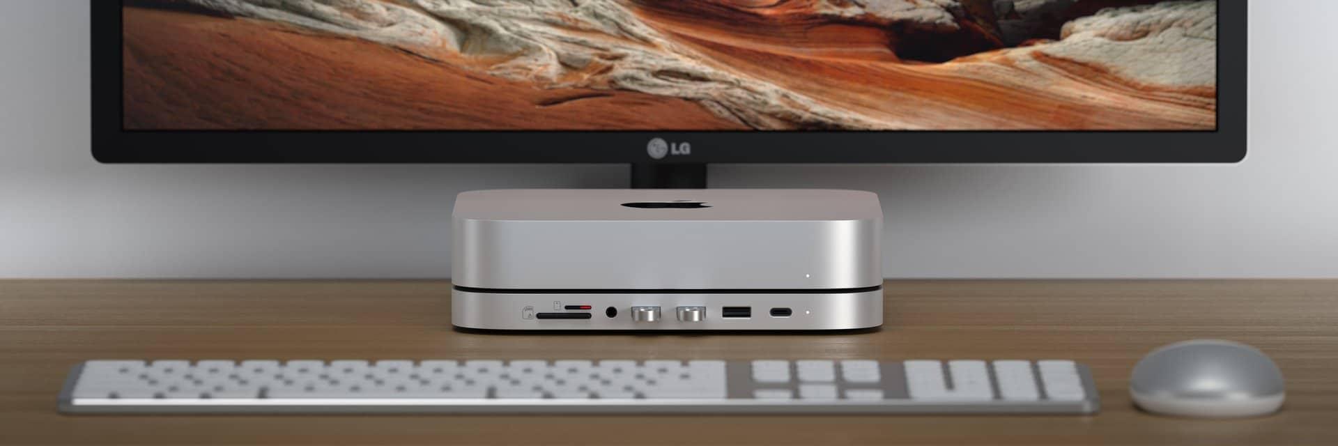 Stand/hub da Satechi para Mac mini