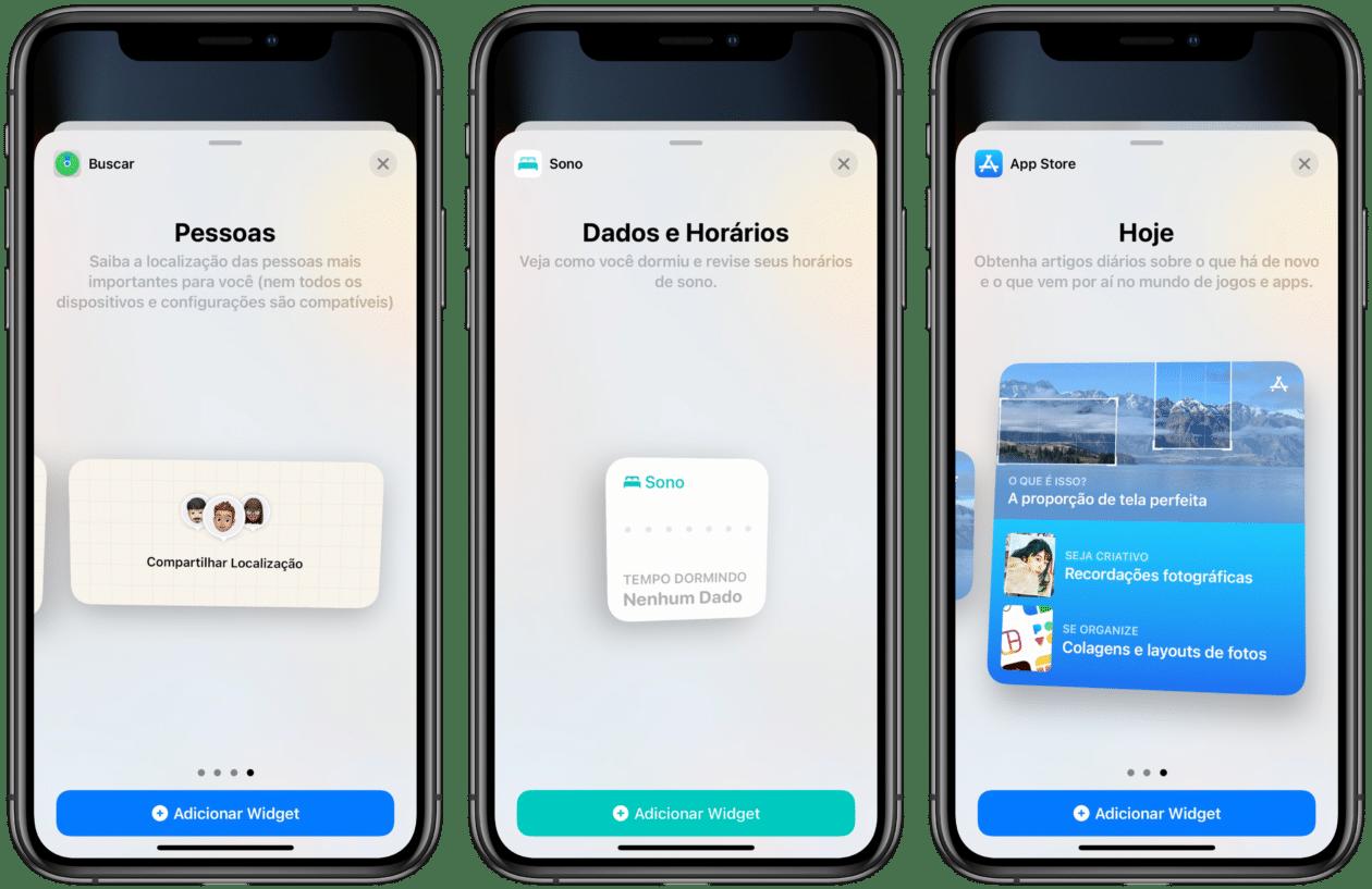 Widgets iOS 15