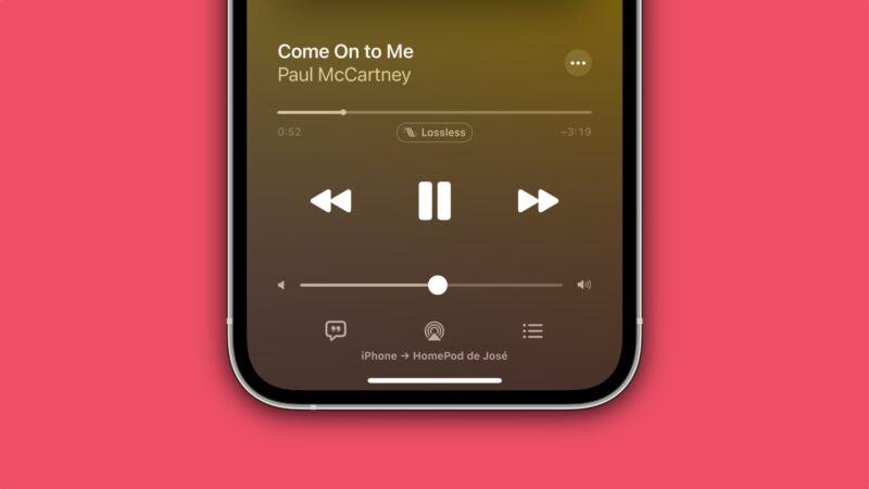 Transmitindo Apple Music Lossless ao HomePod via AirPlay