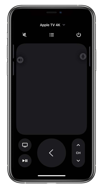 Novo atalho do Apple TV Remote na Central de Controle do iOS 15
