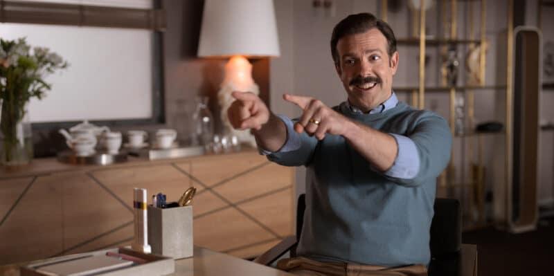 """Imagem da série """"Ted Lasso"""" do Apple TV+"""