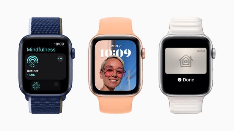 watchOS 8 em Apple Watches (WWDC21)