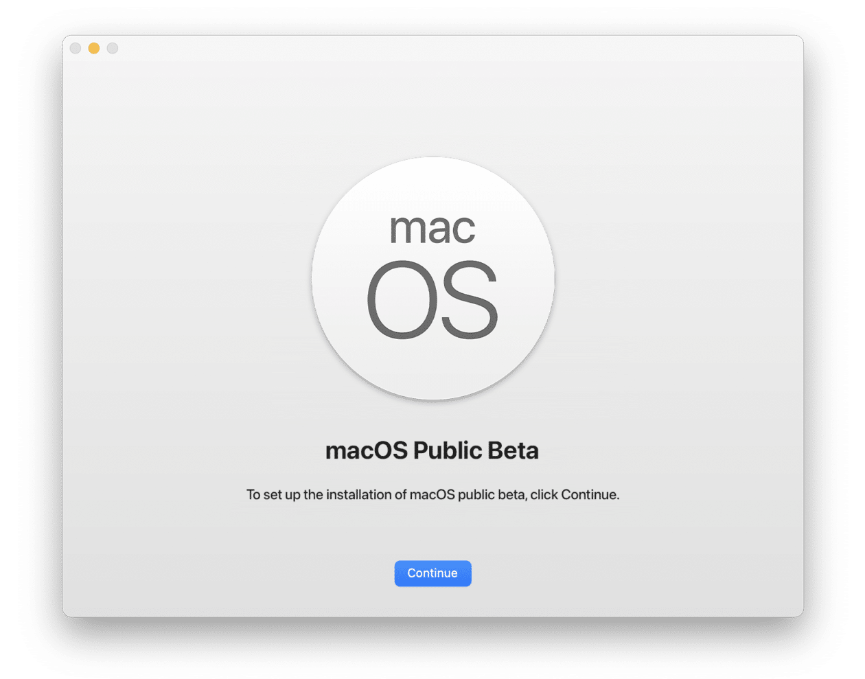 Beta pública do macOS Monterey
