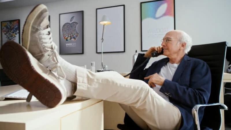 Vídeo da WWDC14 com Larry David