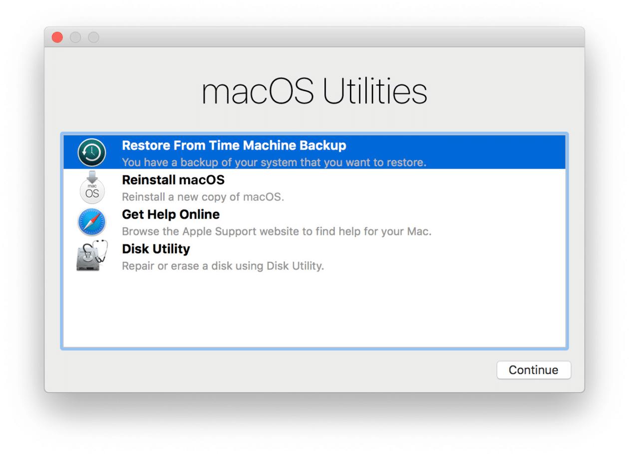 Downgrade do macOS Monterey 12 para o Big Sur 11