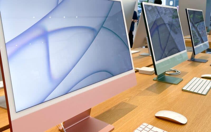 iMac na Apple Store