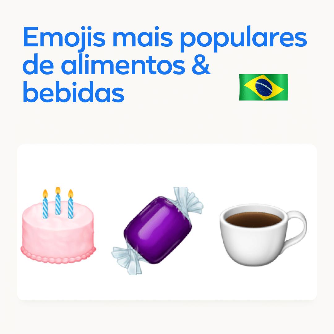 Facebook: emojis mais usados no Brasil