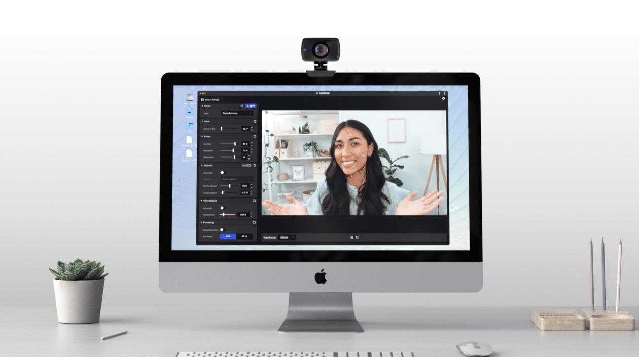 Elgato Facecam com iMac