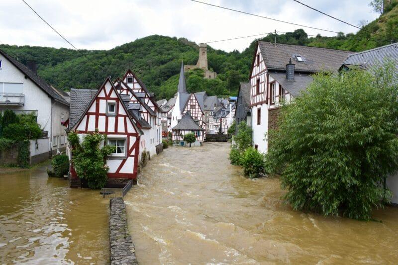 Enchente na Alemanha