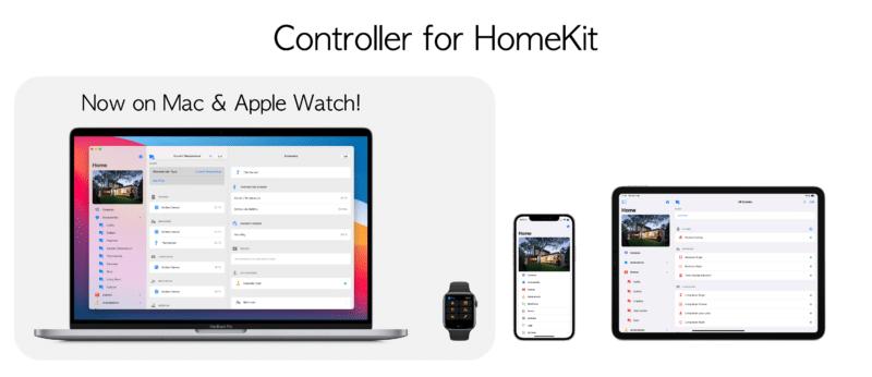 Banner do Controller for HomeKit