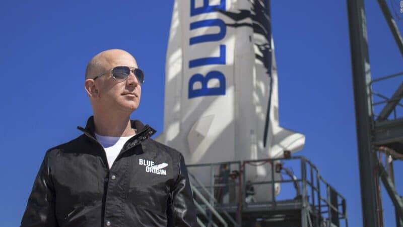 Jeff Bezos indo para o espaço