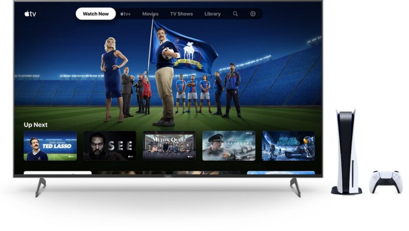 PS5 e Apple TV+