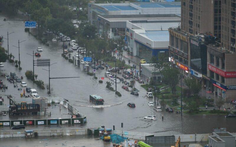 Enchentes na China
