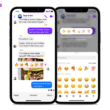 Busca por emoji no Facebook Messenger