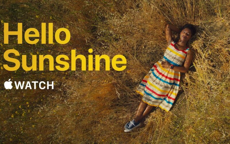 "Novo comercial do Apple Watch: ""Hello Sunshine"""