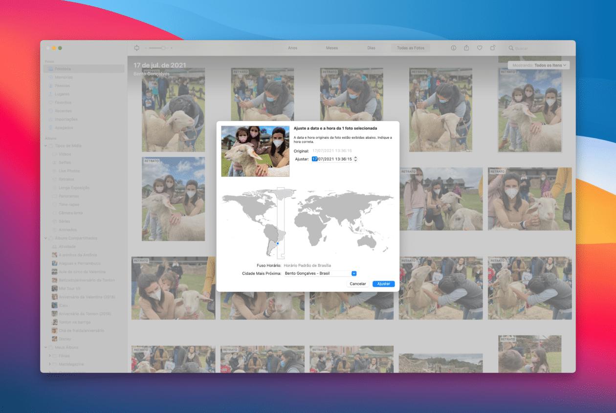 Editar fotos no macOS