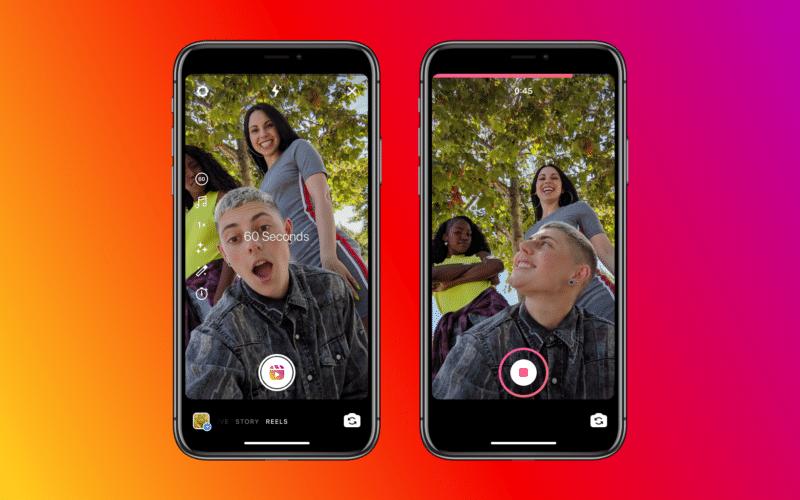 Instagram passa a suportar vídeos de até 60 segundos no Reels