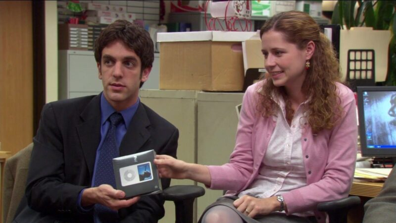 iPod Classic no The Office