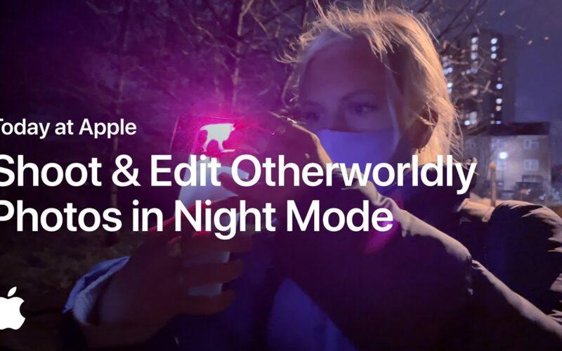 """""""Today at Apple"""" no YouTube: sessão dá dicas para tirar fotos com o Modo Noite"""