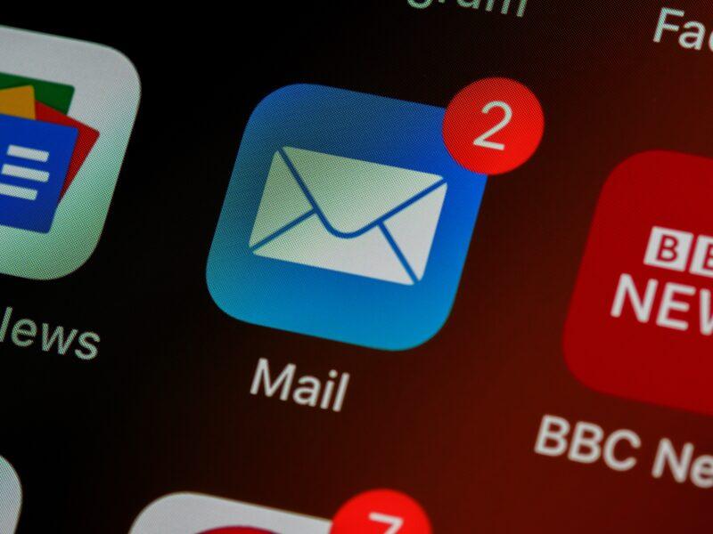 Ícone do app Mail para iOS/iPadOS