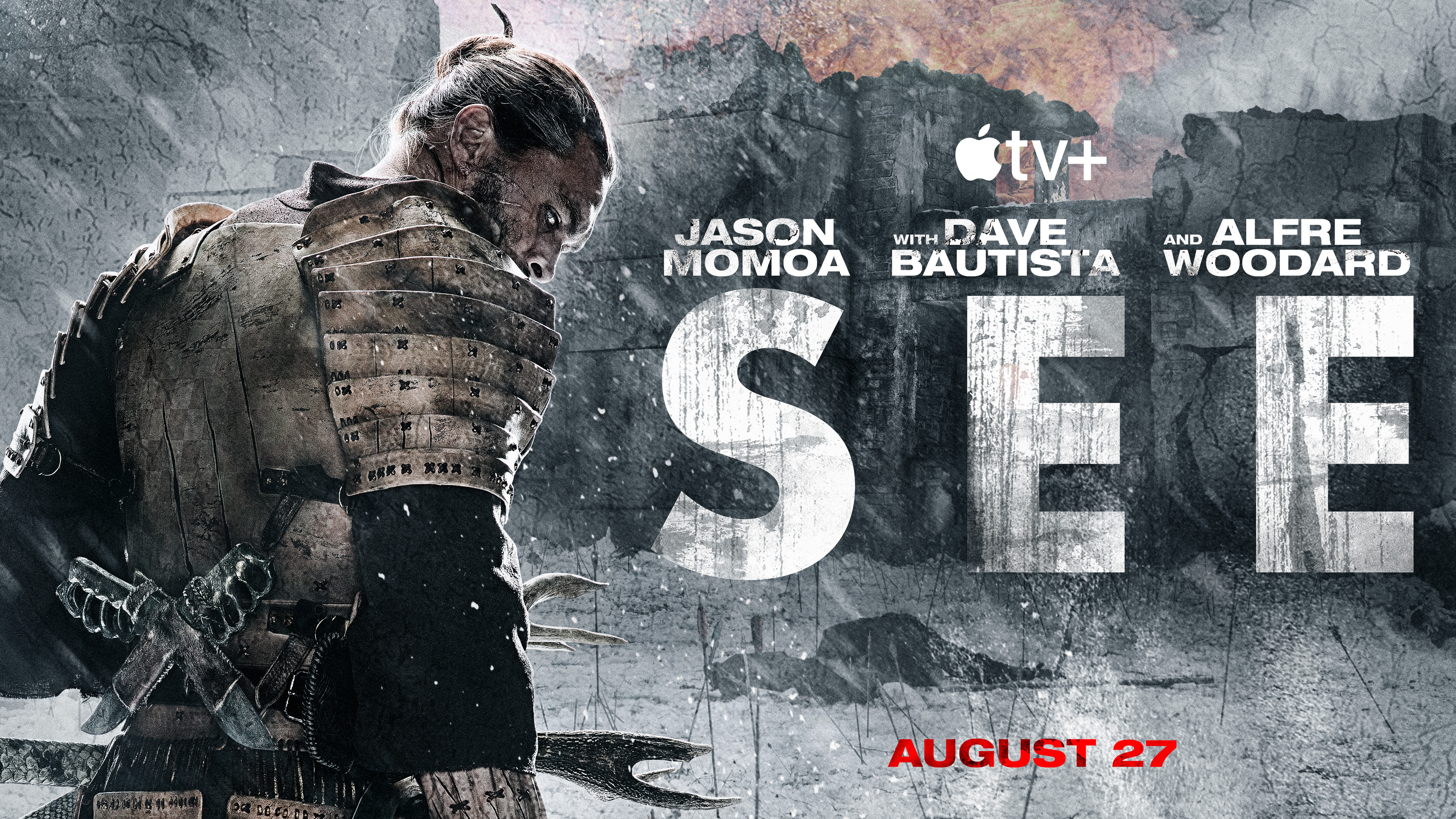 """Divulgação da segunda temporada de """"See"""""""