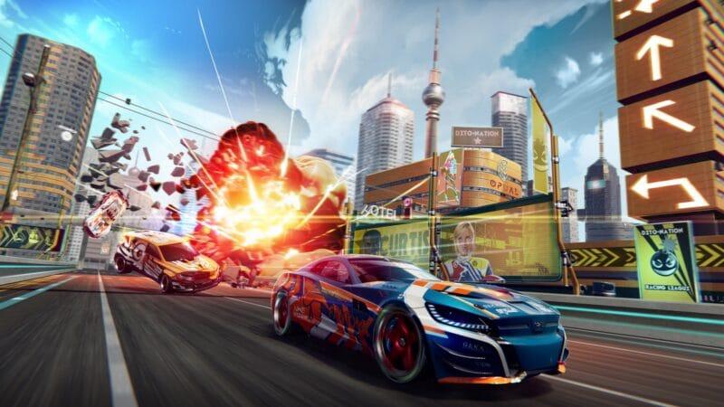 Detonation Racing (da Electric Square), já disponível no Apple Arcade