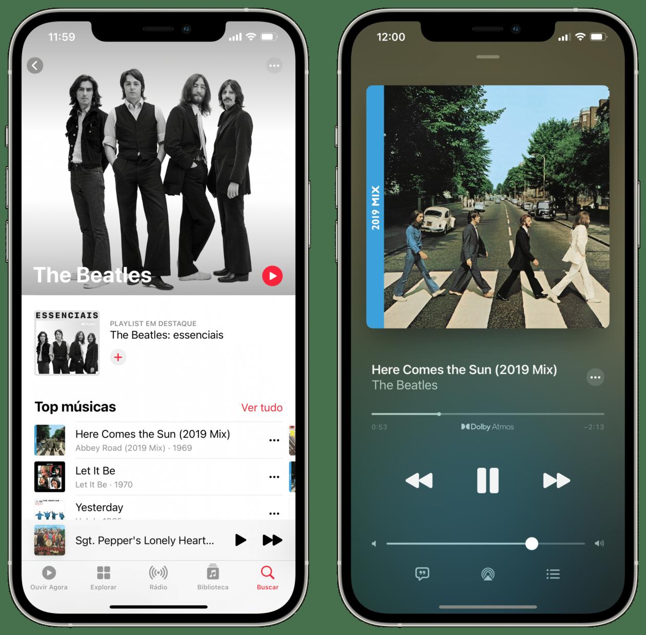 The Beatles no Apple Music